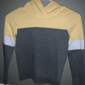 Yellow/Gray Hoodie